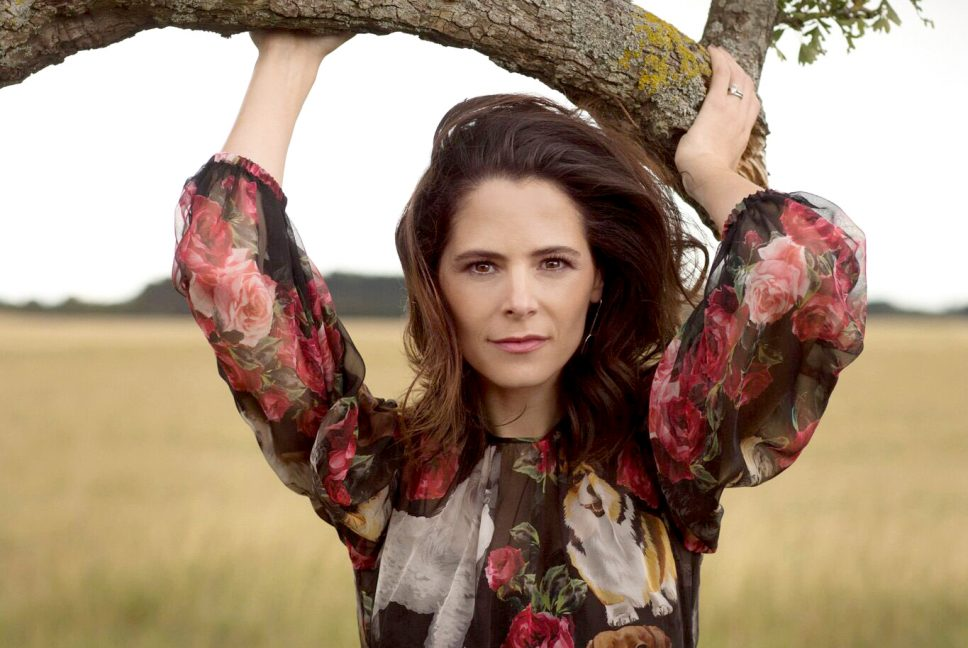 Elaine Cassidy - Irish Tatler October Issue